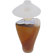 Gilles Cantuel Creation with Parfum Frosted and Clear Glass 1/4 OZ