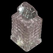 Baccarat Perfume Bottle by Caron Fete des Roses Commercial Perfume