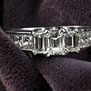 2.42 Diamond Engagement / Wedding Ring