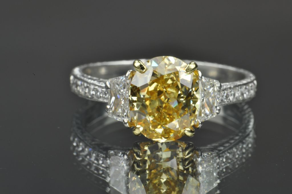 3 carat diamond ring gia