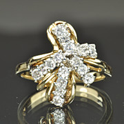 .60 Carat Cluster Diamond Ring