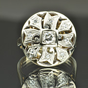 .36 Carat Vintage Diamond Ring