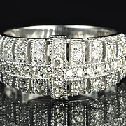 1 Carat Diamond Wedding Band