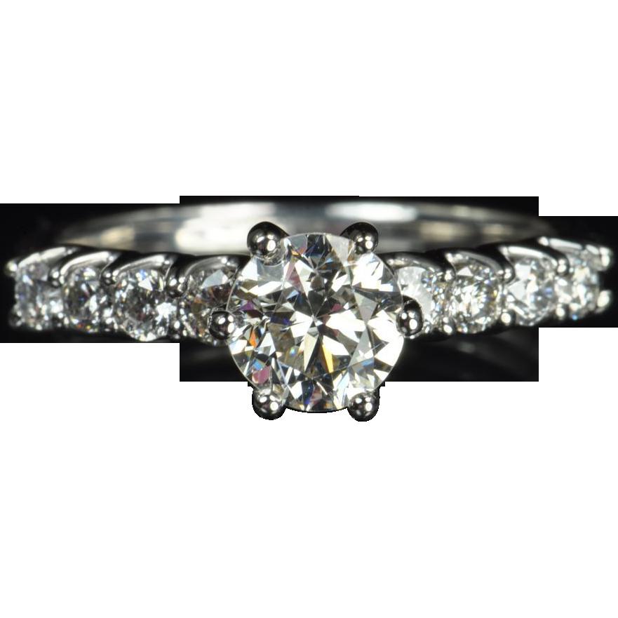 1 32 Carat Diamond Solitaire Engagement Ring 92 Carat