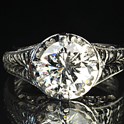 2.25 Carat Diamond Engagement / Wedding Ring