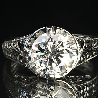 2.25 Carat Diamond Engagement / Wedding Ring
