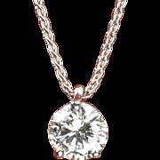 .77 Carat Diamond Pendant