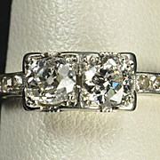 .92 Carat Vintage Wedding Ring