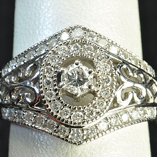 1 Carat Diamond Wedding Ring / Band