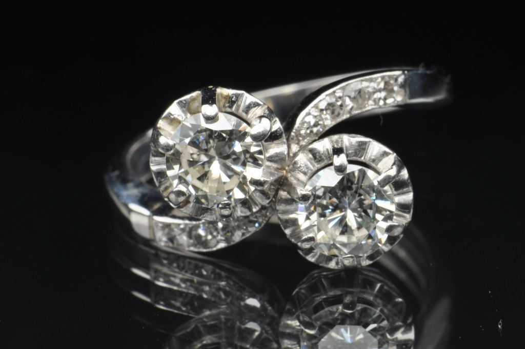 150 carat twin diamond wedding ring clearance sale - Clearance Wedding Rings