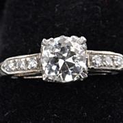 .65 Old European Cut Diamond Solitaire / EGL Certified / CLEARANCE SALE!!