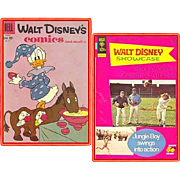 1959 Disney's Comics and Stories Comic, No. 227, & 1973 World's Greatest Athlete Comic, No.14, Marked 50% Off