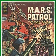 1966 M.A.R.S. Patrol Total War Comic, No. 3, Marked 50% Off