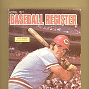 1974 Baseball Register, Pete Rose, Willie Stargell, Marked 50% Off