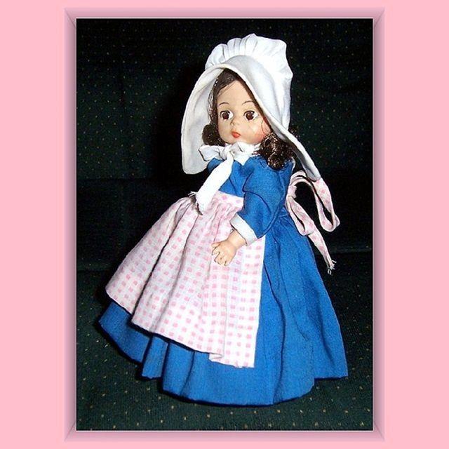 "Madame Alexander Belgium 8"" Doll"