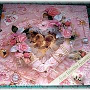 1986 Avon Valentine Favorites Record Album, Beautiful Album Cover, Marked 50% Off