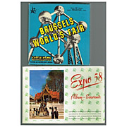 1958 Brussels World's Fair Castle 8mm Film & Expo 58 Souvenir Album, Marked 50% Off