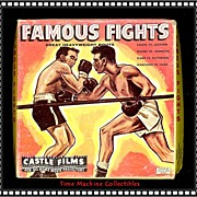 1950's/60's Famous Fights 8mm Castle Film, Marked 50% Off