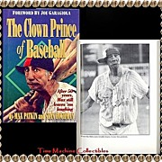 1994 The Clown Prince of Baseball Book by Max Patkin and Stan Hochman, Marked 50% Off