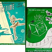 "Icetime of 1948 and ""Howdy, Mr.Ice of 1950"", Sonja Henie & Arthur M. Wirtz - Red Tag Sale Item"