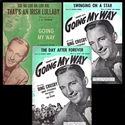 1944 Going My Way with Bing Crosby Sheet Music, Marked 50% Off