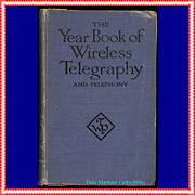 1921 The Year Book of Wireless Telegraphy and Telephony