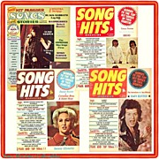 1973 Hit Parader Songs & Stories and Three Song Hits Magazines, Marked Over 50% Off