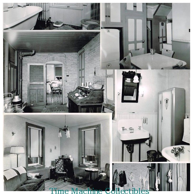 Nine Post WWII Servicemen's Apartment Photos