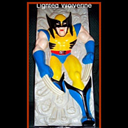 1993 Wolverine Nightlite by Headlites Collectables, Marked 50% Off