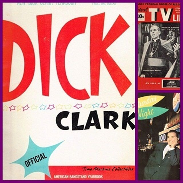 1958 Official Dick Clark/American Bandstand Yearbook & 1953 TV Life