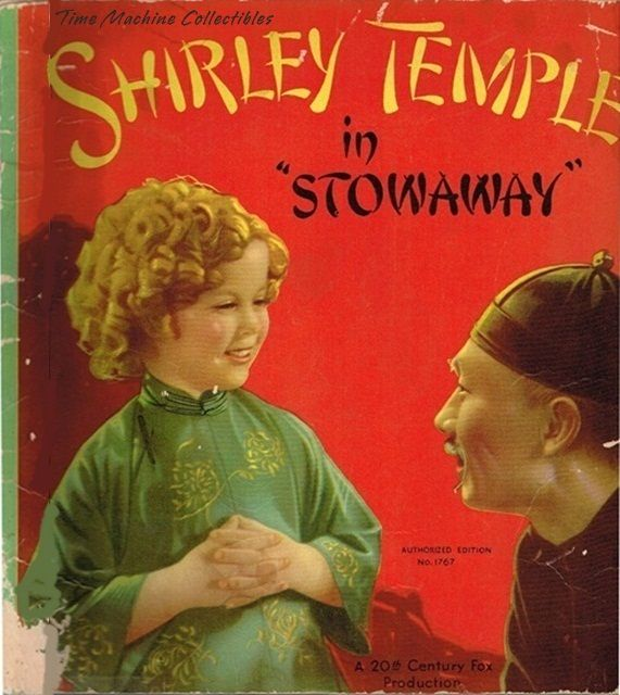 1937 Shirley Temple in Stowaway Book