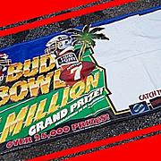 Super Bowl XXVIII Budweiser Bud Bowl VI Banner