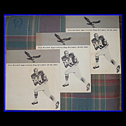 1965 Eagles Pete Retzlaff Appreciation Day Souvenir Programs, December 19-20
