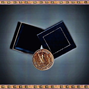 Four 1981 USS Ohio Navy Submarine Medallion Medals, Each Sold Separately