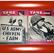 Two 1945 Yank The Army Weekly Magazines, May & June
