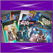 Nine Star Wars Books & Magazines from 1983-1999, Marked Over 50% Off