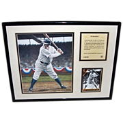 1992 Babe Ruth Numbered Lithographic Print by Darryl Vlasak