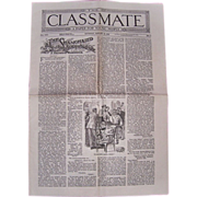 1917-18 Classmate Papers For Young People