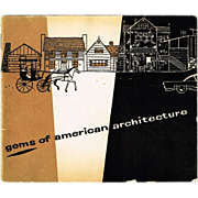 1935 Gems of American Architecture (The American Outhouse)