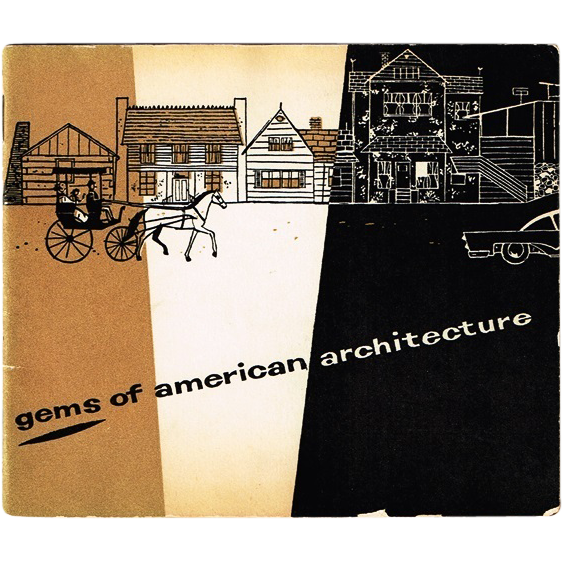 1935 (The American Outhouse)Gems of American Architecture Book