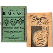 1930's- 40's Secrets of Black Art Book & Dream Book--Your Dream Future, 8th Edition