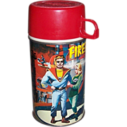 1964 Fireball XL5 Metal Thermos Bottle