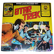 1976 Star Trek Book and Record Set, Number BR 513