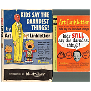 "1957/1962 Art Linkletter ""Kids Say The Darndest Things!"" Books"