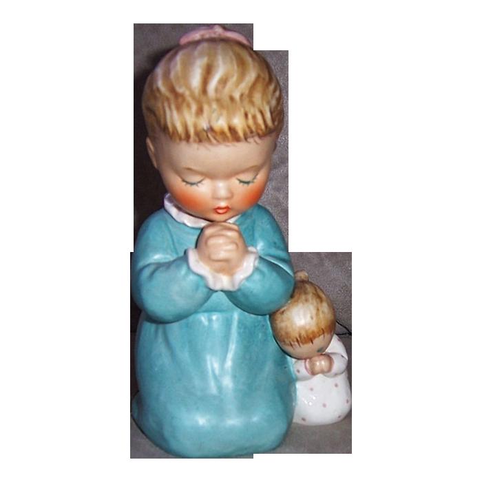 1959 Goebel Figurine Evening Prayer BYJ 38, West Germany