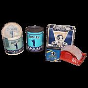 Assorted WWII Era Bugler Tobacco Items