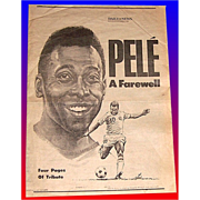 A Farewell to Pele`, The Daily News, October 1, 1977