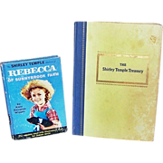 The Shirley Temple Treasury & Rebecca of Sunnybrook Farm Books