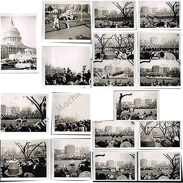 1953 Photos of President Dwight D. Eisenhower's Inaugural Parade