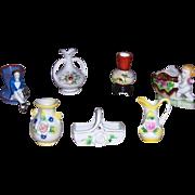 Miniature Occupied Japan Vases or Toothpick Holders